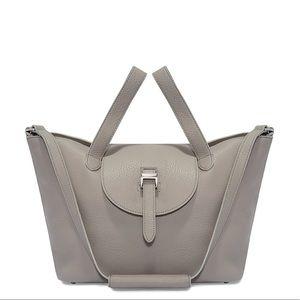 Meli melo thela medium tote bag with zip closure